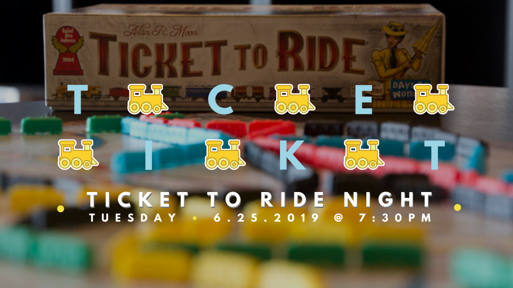 Ticket To Ride June 25 2019 Event Image