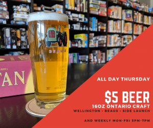 Thursday Beer Special
