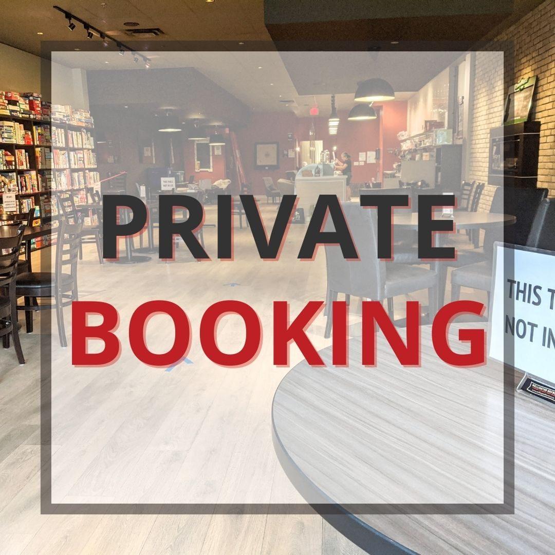Private Booking Button
